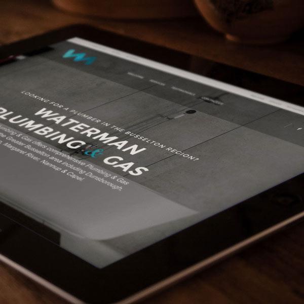 Website Design Busselton for Waterman Plumbing & Gas
